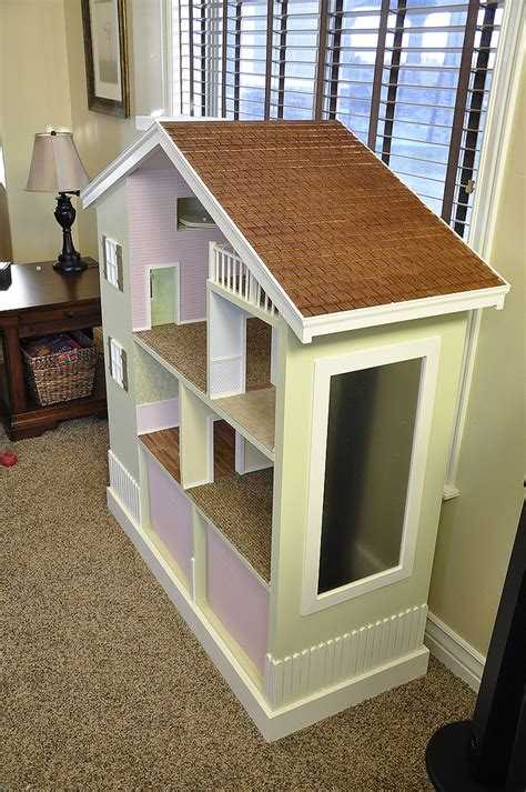 How To Build A Dollhouse Bookcase by White My Bookshelf Dollhouse Diy Projects
