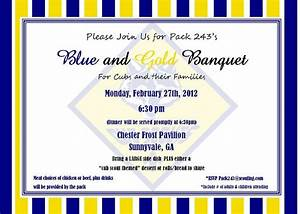 17 best images about cub scouts blue gold banquet on With cub scout blue and gold program template