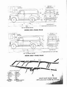chevrolet advanced design pickup truck measurements With 1956 ford f100 4x4