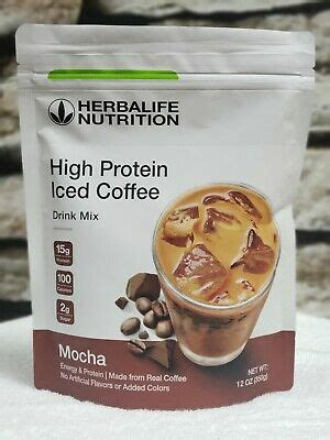 Independent herbalife distributor formula 1 healthy meal. HERBALIFE HIGH PROTEIN ICED COFFEE & MULTIVITAMINS 12 OZ MOCHA $139.81   Grelly