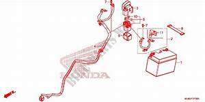 Wire Harness  Battery For Honda Vfr 800 F 2014   Honda