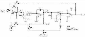Audio Variable Filter Circuit Diagram