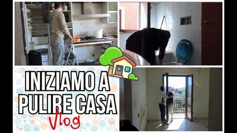 pulire casa nuova iniziamo a pulire casa nuova vlog