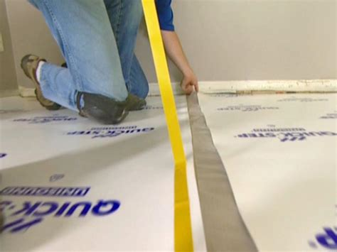 how to lay underlay for laminate flooring how to install underlayment and laminate flooring how tos diy