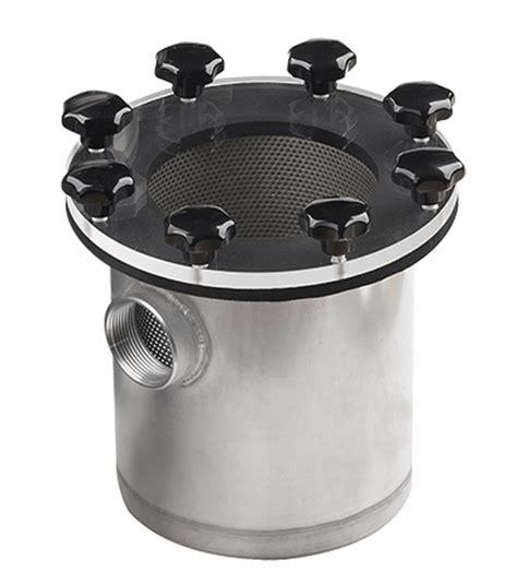 stainless steel windlass chain vetus shop com vetus raw water strainer 525 stainless