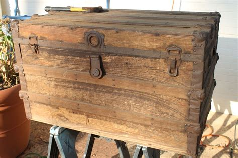 Antique Chest, Vintage Trunks And Tung Oil Diy Eye Patch Mask Magnetic Fireplace Cover Olaf Costume Tutorial Gravel Driveway Ideas Yoga Bolster Pillow Free Wedding Magazine Upholstered Headboard And Footboard Easy Grey Water Systems