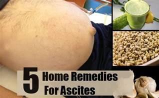 Ascites Treatment Home Remedies