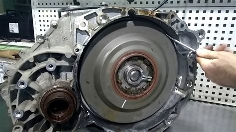 disassembly gearbox powershift ford kuga  youtube
