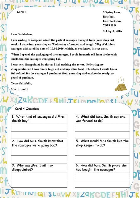ks ks sen ipc reading comprehension cards guided