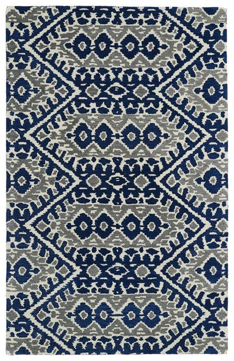 kaleen global inspirations glb01 17 blue area rug