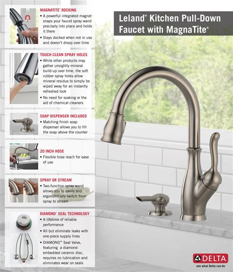 delta touch20 kitchen faucet delta touch faucet delta touch faucet spaces with cambria