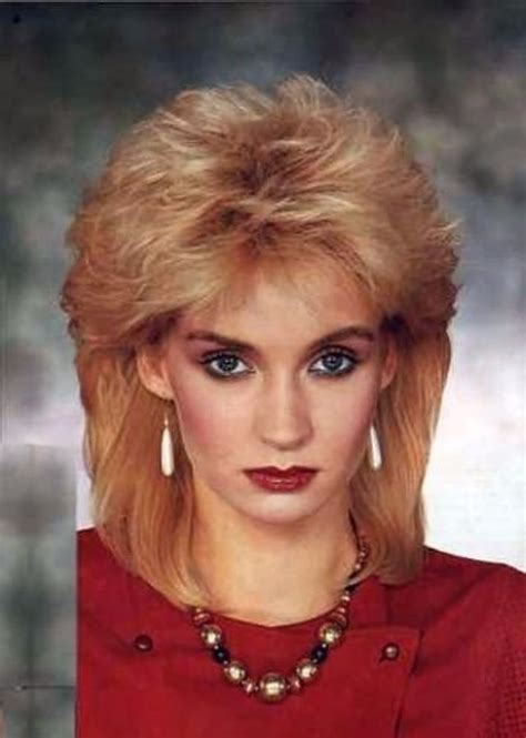 80s hair style 1980s the period of s rock hairstyles boom