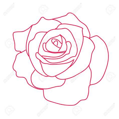 Dessin De Fleur Rose  Galerie Tatouage