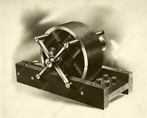 Tesla Induction Motor  1888 - Stock Image  5124