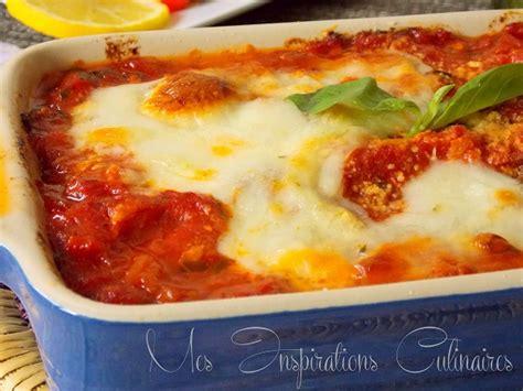 recette de cuisine avec aubergine aubergines alla parmigiana recette familiale classique