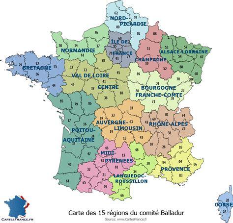 Nouvelle Carte De Region Et Departement by Carte Des 13 Nouvelles R 233 Gions