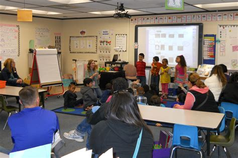 vassar elementary hosts bring parent school day aurora