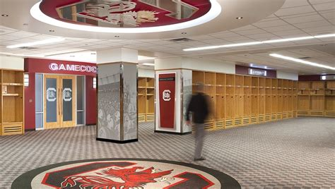 usc football locker room renovation quackenbush