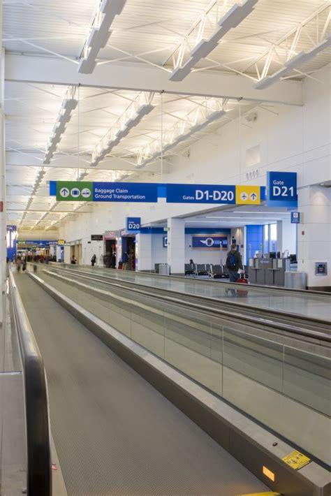 detroit metro airport terminal renovation  romulus mi