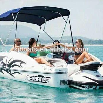 Kawasaki New Mini Jet Boat by Sanj Combined Passenger Boat Powered By 2 Seat Big Power
