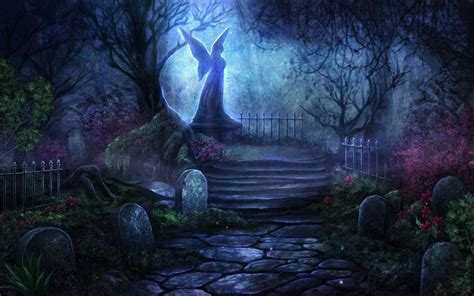 Wallpaper Graveyard by Graveyard Backgrounds Wallpaper Cave