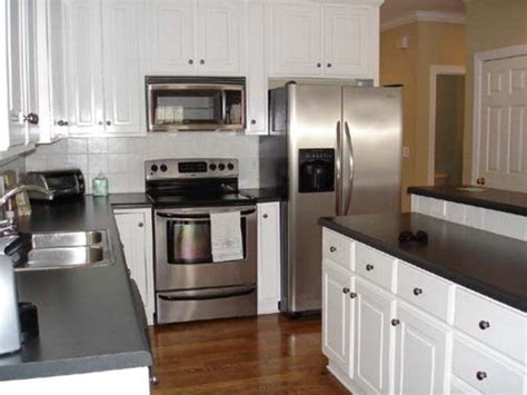 cabinet colors with stainless steel appliances black and white kitchen with stainless steel appliances