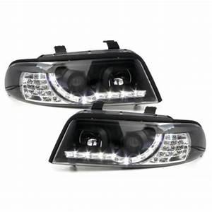 A4 B5 Scheinwerfer : drl2 tagfahrlicht optik scheinwerfer schwarz f r audi a4 ~ Kayakingforconservation.com Haus und Dekorationen