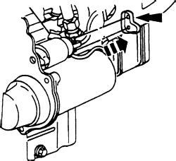 Ford 4 2l Engine Starter Wiring by How Do I Change Out The Starter Assembly Drawing 46 S