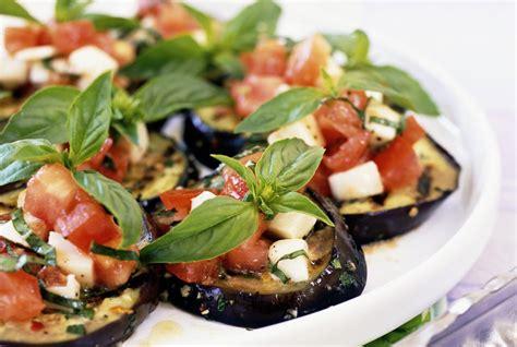 portuguese kitchen decor grilled eggplant with tomato vinaigrette recipe