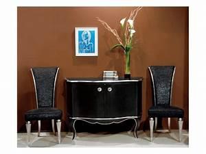 Sedia in legno, imbottitura in lamè, per soggiorno IDFdesign