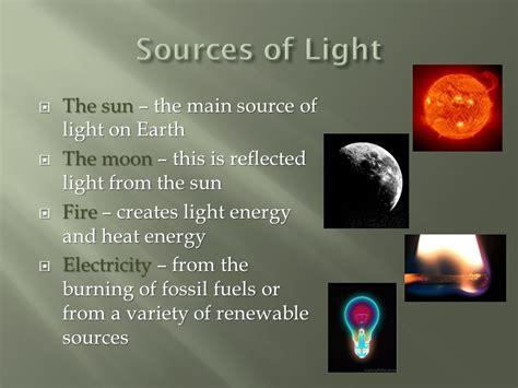 the light source light optics and colour ppt