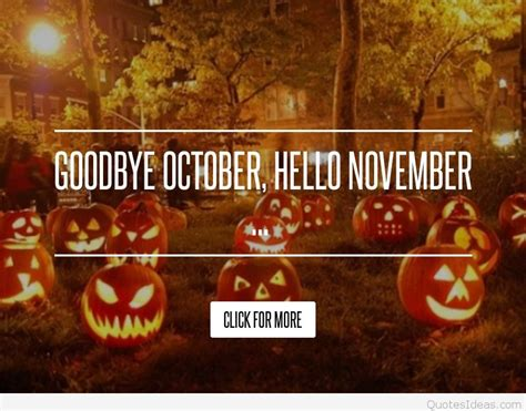 halloween time  october quotes pics