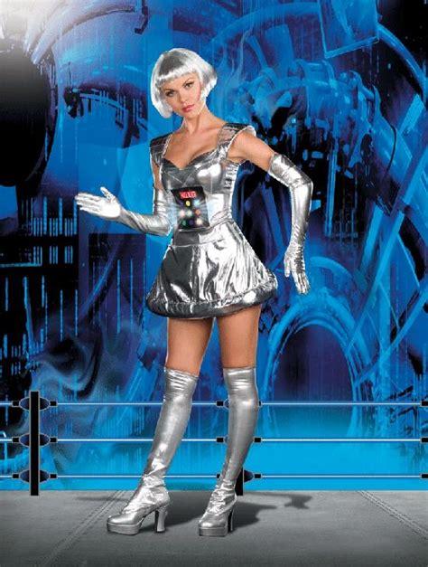 human statue bodyart fembots fem bots female robots