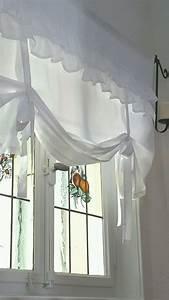 Raffrollo Mit Schlaufen 140 Breit : charmant landhaus raffrollo rollos shab gardine maison impressionen landhausstil raffrollos ~ Whattoseeinmadrid.com Haus und Dekorationen