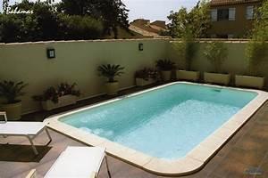 piscine kit coque polyester bahamas france piscines With piscine pour petit espace