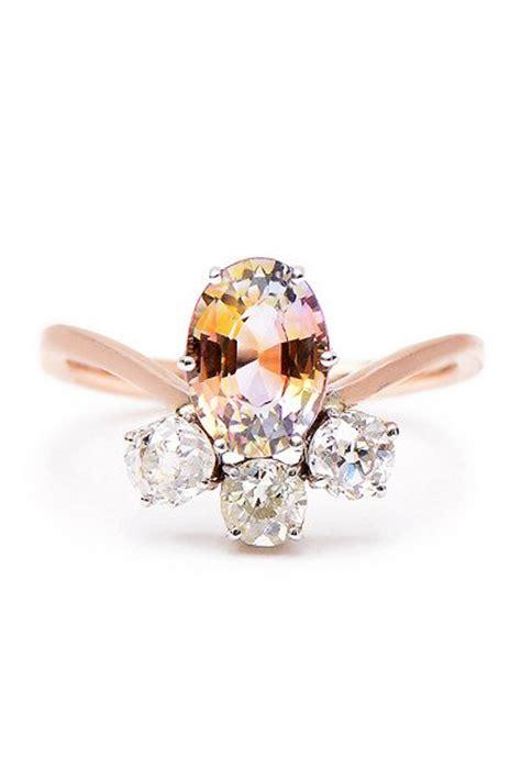 unique engagement rings beautiful  diamond