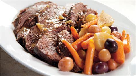 pot roast recipe  turnips  carrots entree recipes