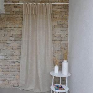 Rideaux En Lin Naturel : rideaux en lin rideaux brod s rideau blanc maison d 39 t ~ Dailycaller-alerts.com Idées de Décoration