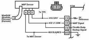 p0068 manifold absolute pressure map sensor mass air With map sensor wiring
