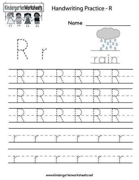 Free Letter R Worksheets For Kindergarten  Printable Block Letter Dot To Dots R Coloring