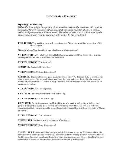 parliamentary procedure worksheet parliamentary procedure
