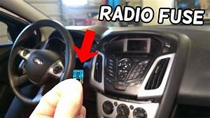 Radio Does Not Turn On Fuse Location Replacement Ford