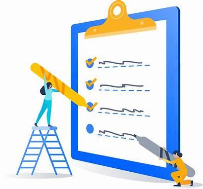 Admin Clipart Atlassian Checklist Management Clipboard Packing