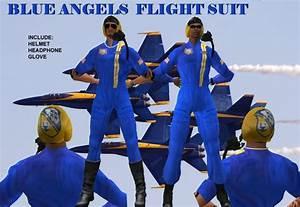 Second Life Marketplace - BLUE ANGELS FLIGHT SUIT
