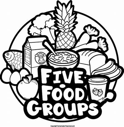 Groups Clipart Five Preschool Cliparts Fruits Clipground