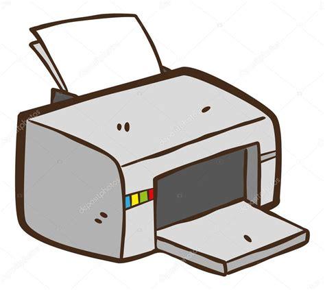 stock bureau direct dessin animé imprimante image vectorielle mhatzapa