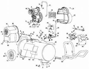 Dewalt D55167 Type 1 Air Compressor Parts