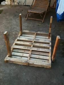 Garden Pallet Table • 1001 Pallets