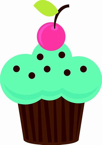 Cupcake Cupcakes Clipart Clip Birthday Cup Cakes