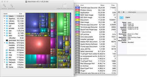 os  disk space management